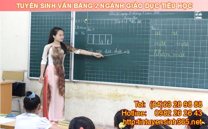 văn bằng 2 giáo dục tiểu học