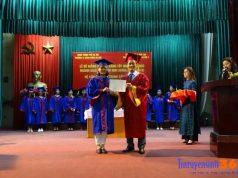 trao bằng tốt nghiệp lớp liên thông đạ học sư phạm hà nội 2 ngành mầm non