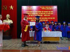 trao bằng tốt nghiệp liên thông đại học sư phạm hà nội 2