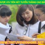 doi tuong nao duoc xet tuyen thang vao cao dang dai hoc 2015
