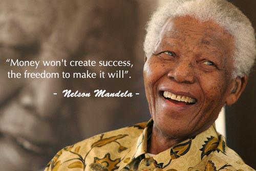 Học tiếng Anh qua những câu nói nổi tiếng của Nelson Mandela