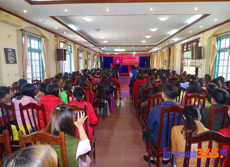 lễ trao bằng tốt nghiệp lớp liên thông K6 mầm non và tiểu học