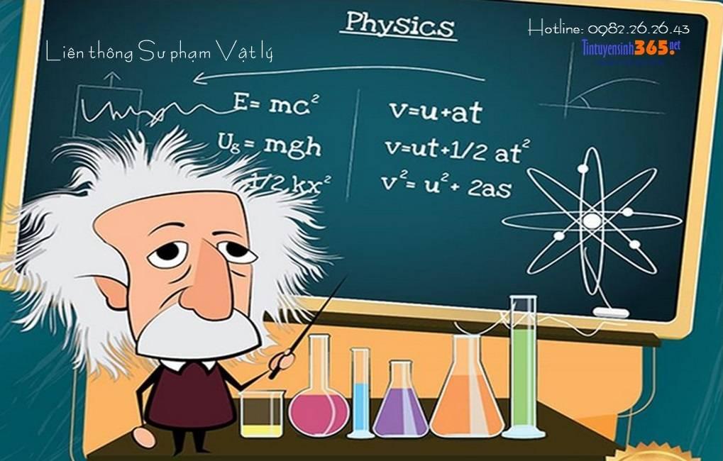 liên thông đại học sư phạm vật lý