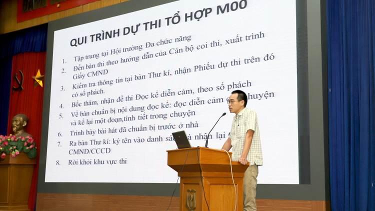 ThS. Nguyễn Cao Đằng - Phó Trưởng Phòng Quản lý Đào tạo Cao đẳng Sư phạm Trung Ương