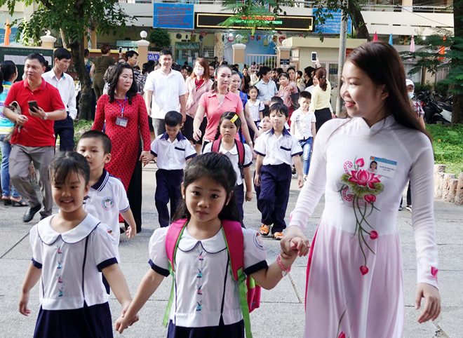 giáo viên mầm non, tiểu học, thcs làm gì trước những quy định của luật giáo dục 2019